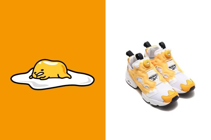 Reebok x Sanrio推出這雙「蛋黃哥」波鞋,已經感受到懶洋洋的氣息了!