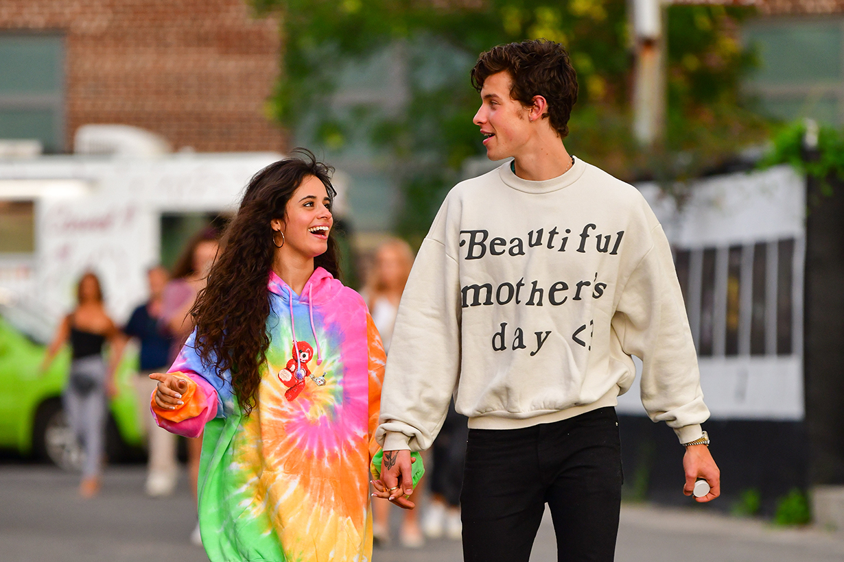 Shawn Mendes and Camila Cabello Put on Halloween Masks to Play with the Paparazzi