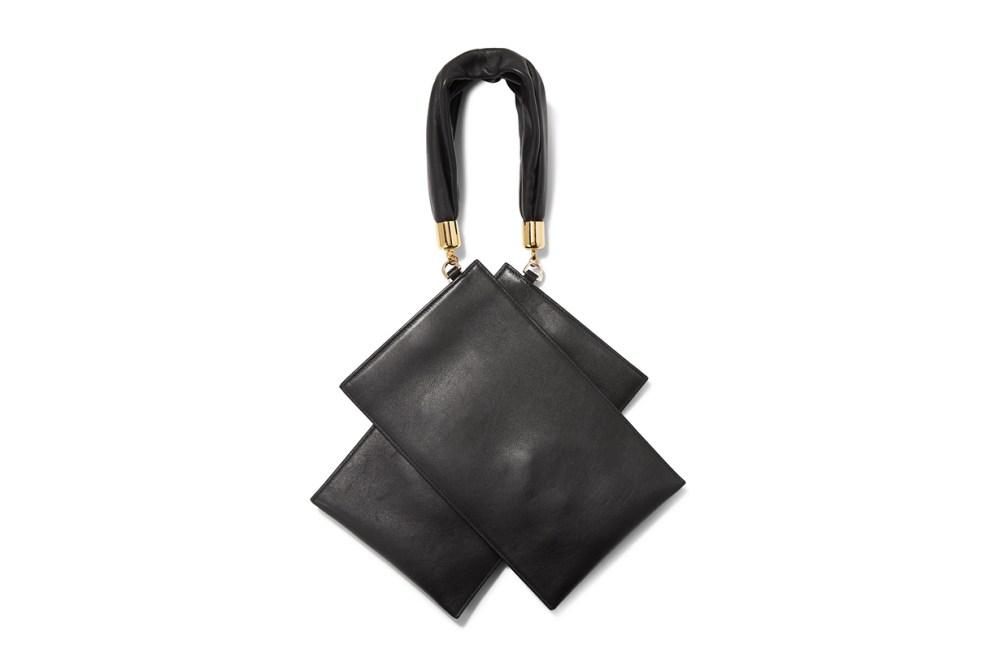 Shiromuku Mini Leather Tote