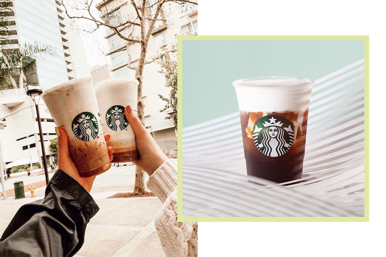 Starbucks' New Gigantic Tortoiseshell Reusable Cups