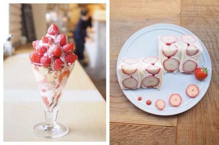 #POPSPOTS in Osaka:草莓控每年冬天都會想報到的咖啡廳,說什麼都要加入旅遊清單!