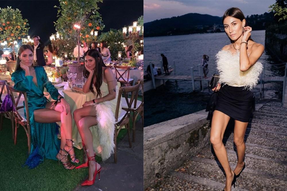 Italian Women Party Dress