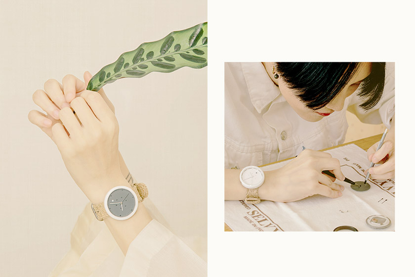 Taiwan art is business watches Jin interview and Choose Time Project