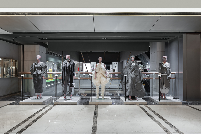 thom browne art haus first pop up taipei xinyi