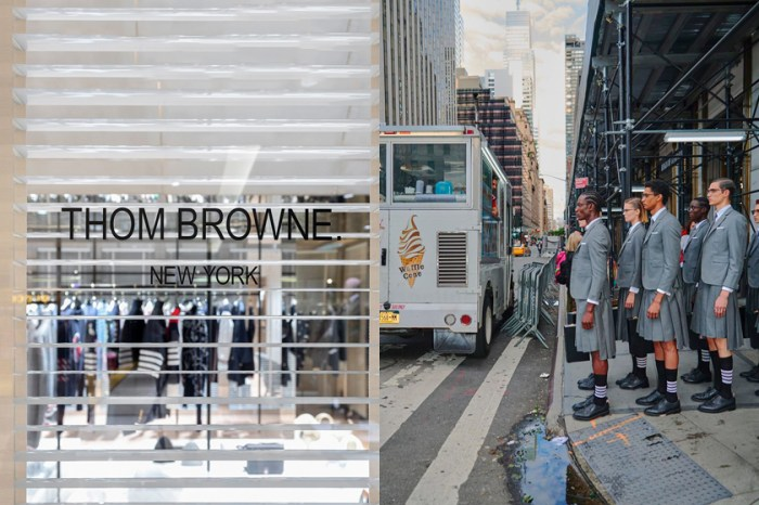 將品牌 DNA 完美移植,全台第一間 Thom Browne Pop-up 概念店!