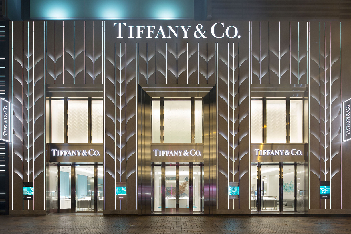 TIFFANY T ring and Tiffany & Co. hong kong flagship store tsim sha tsui