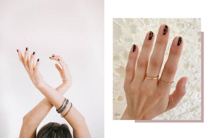 秋季最顯氣質的美甲潮流:IG 女生都在炫耀玳瑁色指甲!