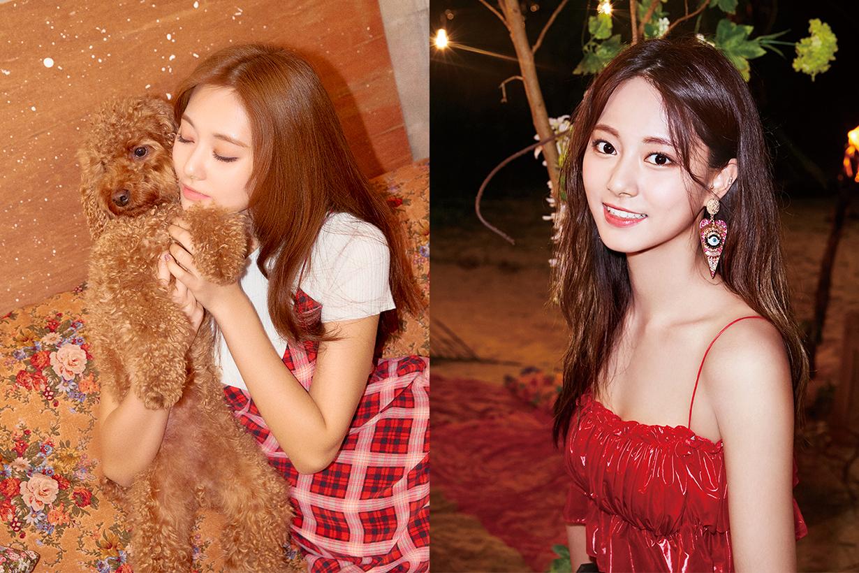TWICE Chou Tzu Yu Tzuyu blonde hair light brown celebrities hair colour trend 2019 barbie doll k pop korean idols celebrities singers girl bands