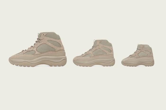 adidas + Kanye West 推出新作!今次還有奶茶色的高筒球鞋