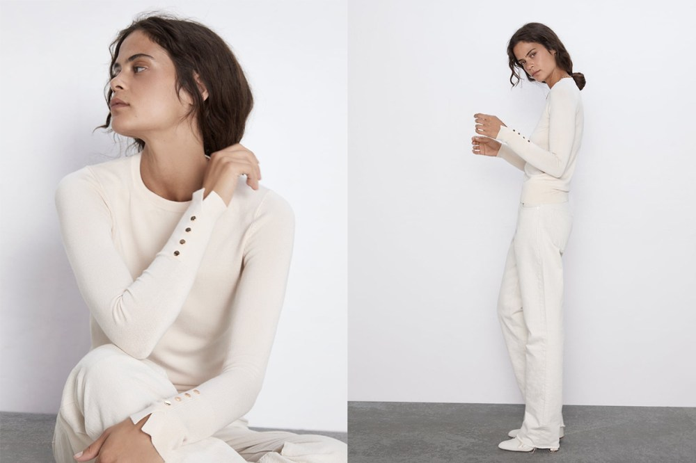 Zara White Color Trend