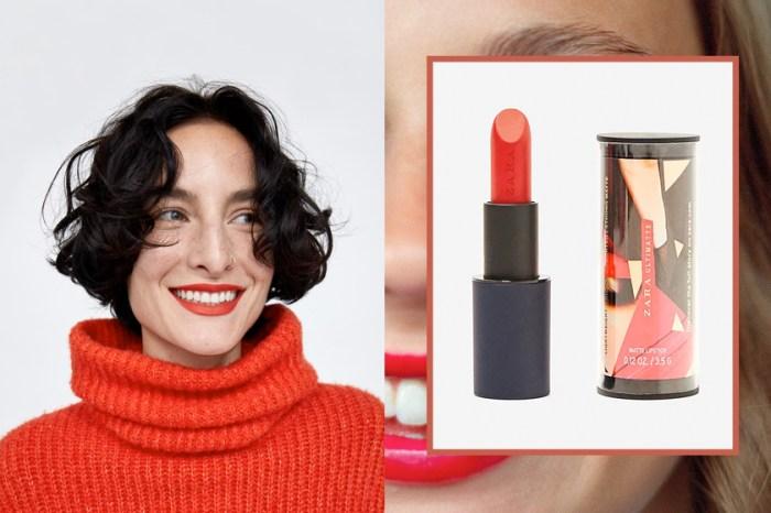 終於等到 Zara Beauty 正式登陸台灣:首開賣的唇膏系列色號、價錢一次看!