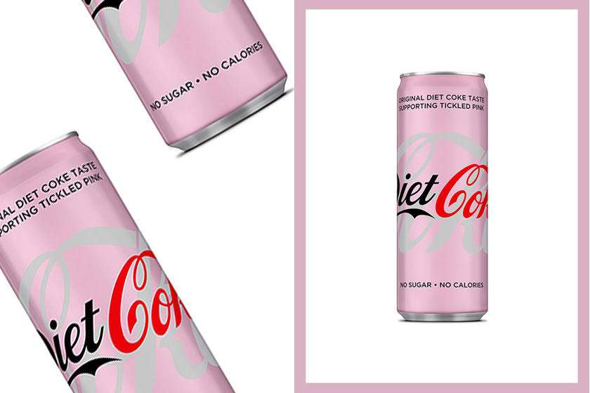 Coca-Cola Pink Diet Coke for Breast Cancer Awareness Month