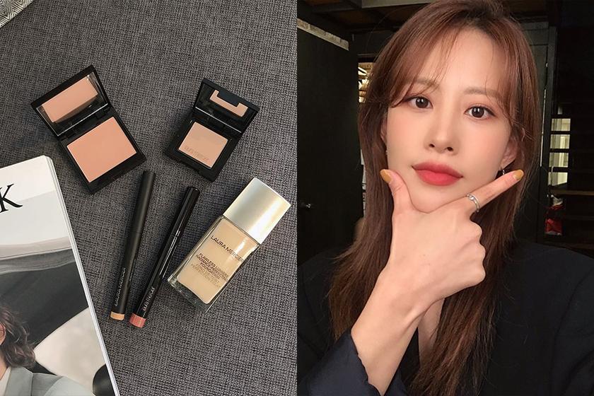 Laura Mercier Perfecting Foundation Blush Rouge Essentiel LipStick