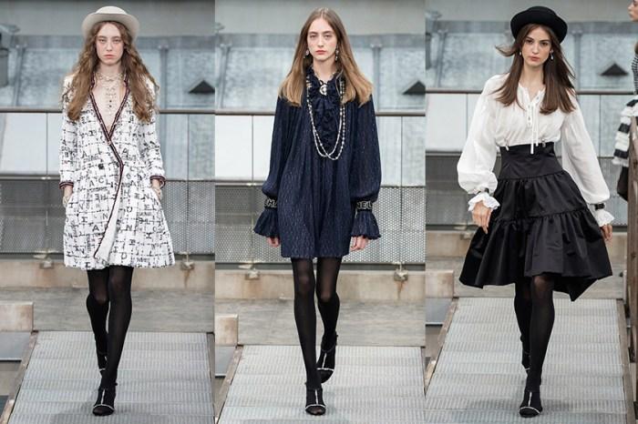 #PFW:在天台與 Chanel 浪漫相遇,黑白視覺中展現優雅與個性相揉面貌!