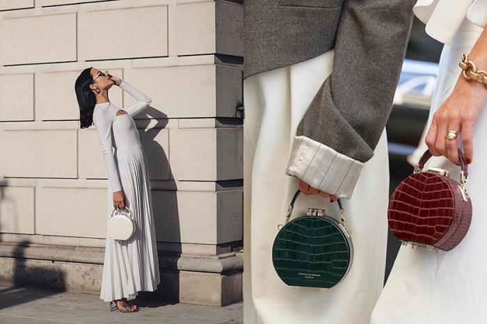 時裝週上英國女生默默收藏的質感手袋,是來自這個凱特王妃也鍾愛的小眾品牌!