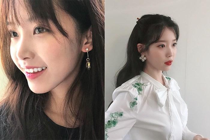 同樣有性感與清新並存的氣質:這位撞臉 IU 的女生在韓國網路引起熱搜!