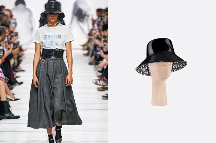 時髦又個性的迷人混搭:Dior 帶回這款復古 Bucket Hat,即將成為街頭爆紅單品!