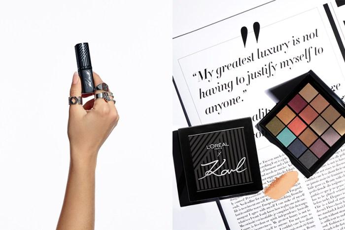 老佛爺最後經典告別作:聯手 L'Oréal Paris 推出限量 16 色彩妝盤、訂製唇膏!