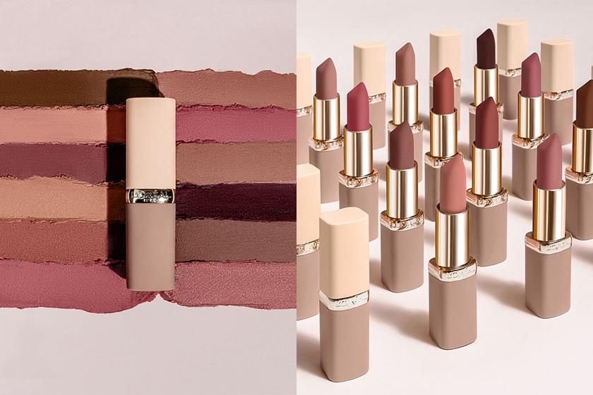 L'Oreal Paris Pink Lip Stick Color Riche Free The Nudes