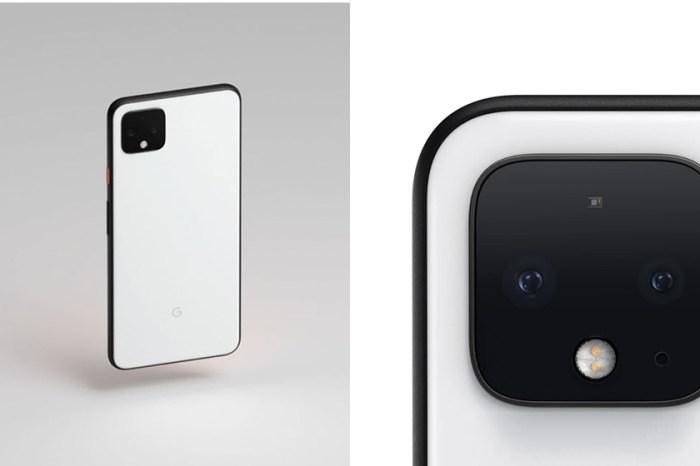 方形雙鏡頭與夜景模式:iPhone 11 的最強勁敵,google 新一代手機 Pixel 4 正式發表!