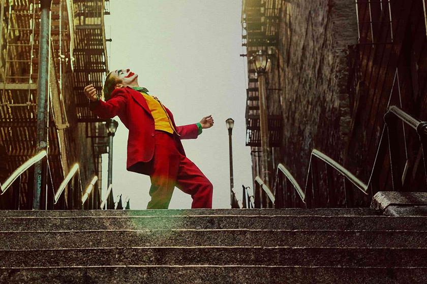 Joker Stairs Movie Scene New York