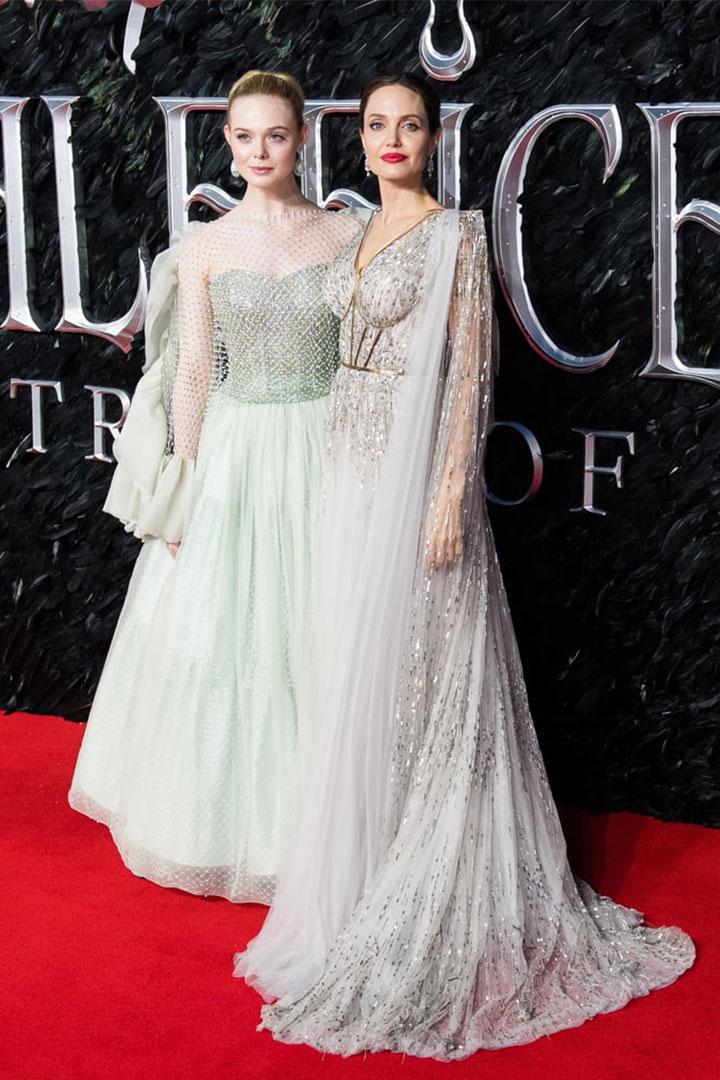 Elle Fanning's 'Maleficent: Mistress Of Evil' London Premiere Look