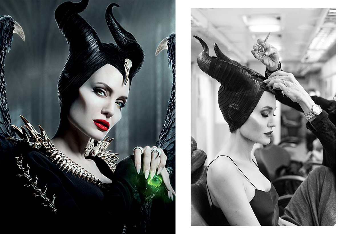 Maleficent: Mistress of Evil Angelina Jolie Makeup M.A.C. Matte Lipstick Russian Red
