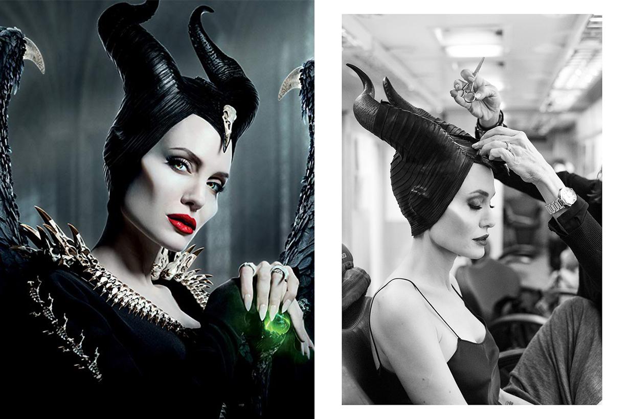 Maleficent: Mistress of Evil Angelina Jolie Makeup M.A.C. Matte Lipstick Russian Red