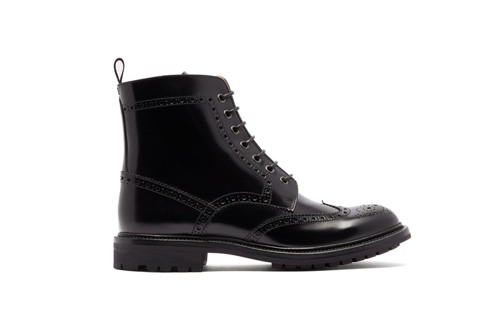 Angelina Leather Ankle Boots