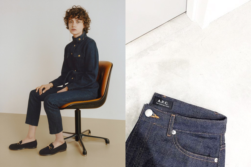 a.p.c. denim jeans story simple design 6 reasons love