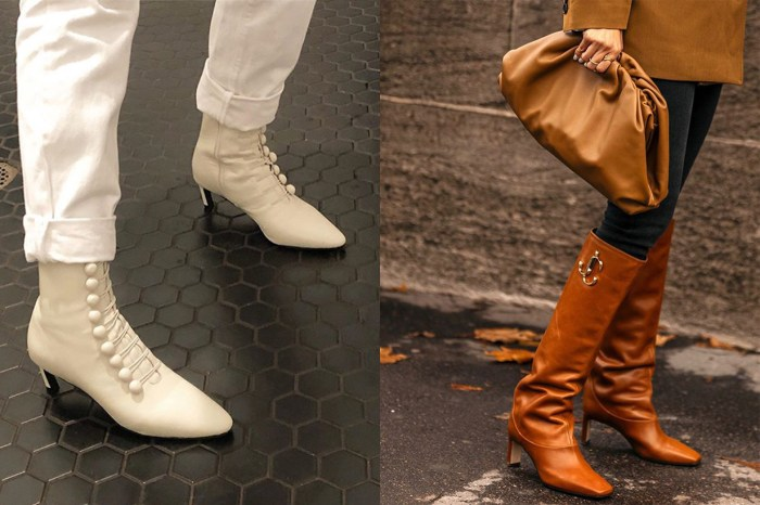 方頭鞋要 Out 了!入秋後歐美女生都換上這 5 款靴子