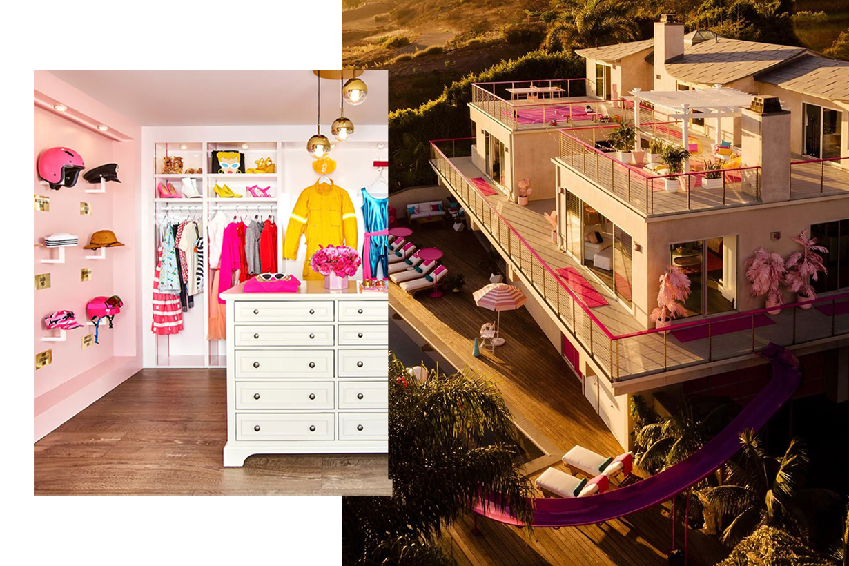 Barbie's Malibu Dreamhouse available to rent on Airbnb
