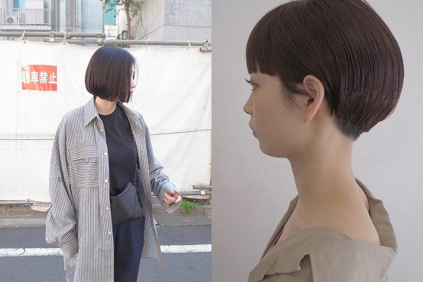 bob hairstyls trends japanese stylist girls Tadakatsu Isobe