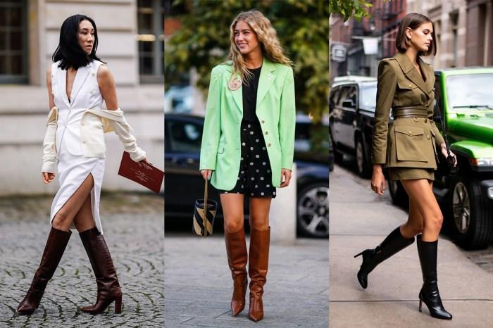 及膝靴比短靴更流行!看完超模、博主示範,不愁沒有配搭靈感