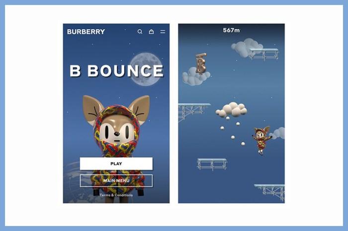 最時尚線上遊戲!Burberry 推出這款《B Bounce》小遊戲主角實在太可愛了!