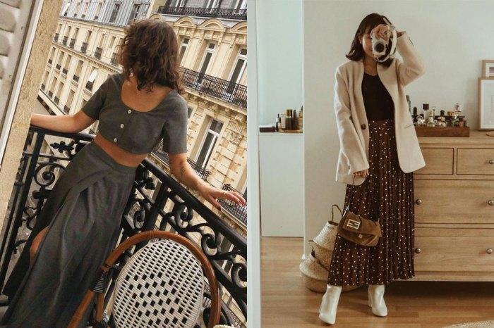 省下配搭煩惱:這款休閒裙加靴子,正是今個秋季 It Girls 的流行穿法