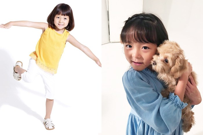 秋小愛擁有最強星二代基因,7 歲就讓有逆天長腿被誤會是名模媽媽!