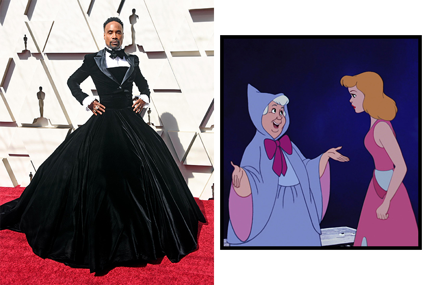 Cinderella live action Fairy Godmother Billy Porter