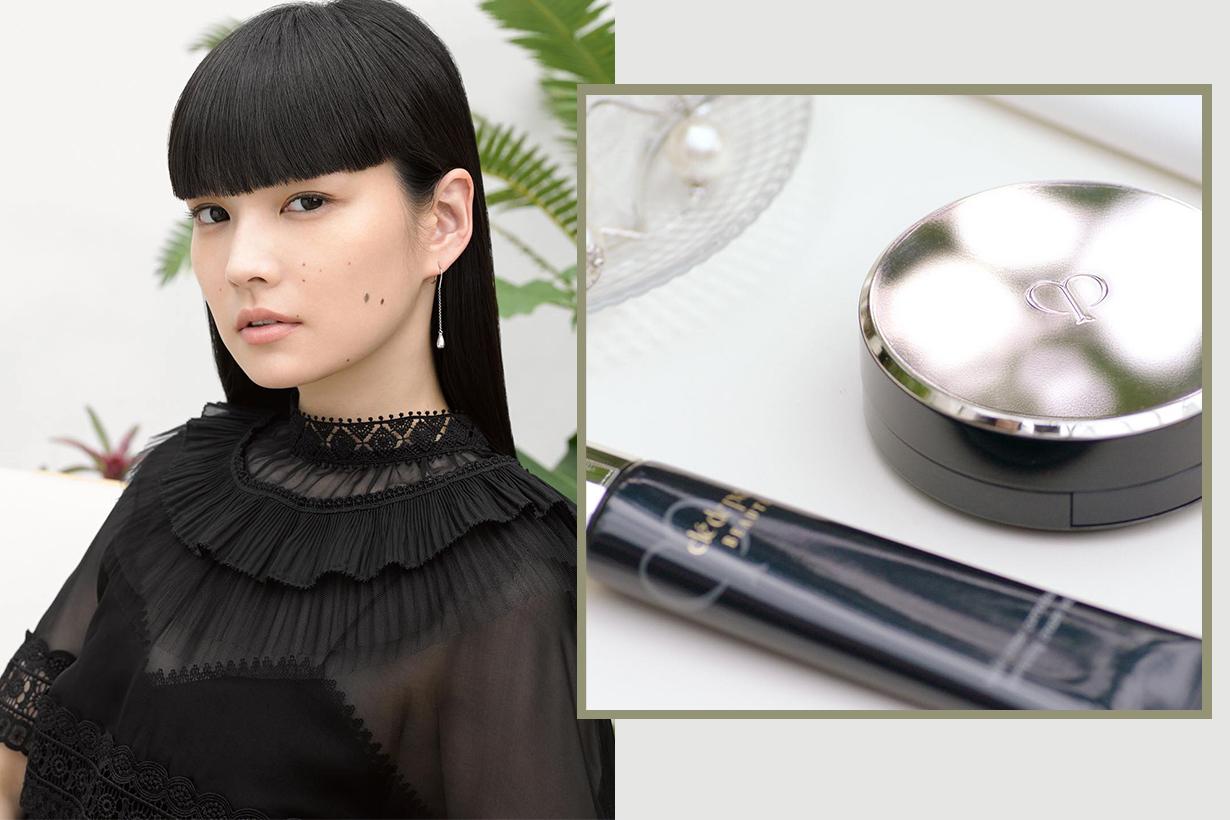 Clé de Peau Beauté Radiant Cream to Powder Foundation teint poudre creme eclat cosmetics makeup base makeup foundation
