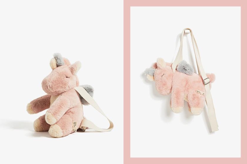 Zara unicorn backpack 2019
