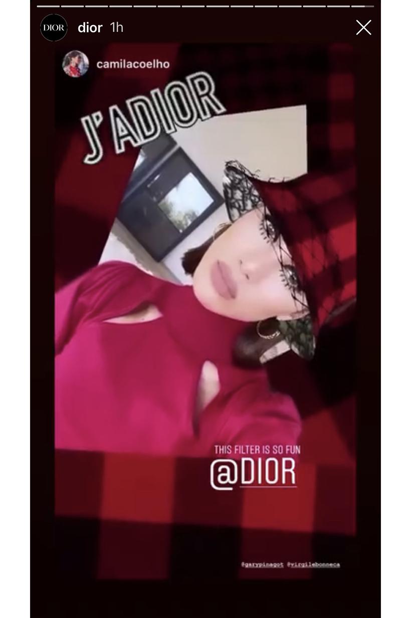 Dior Instagram Filter