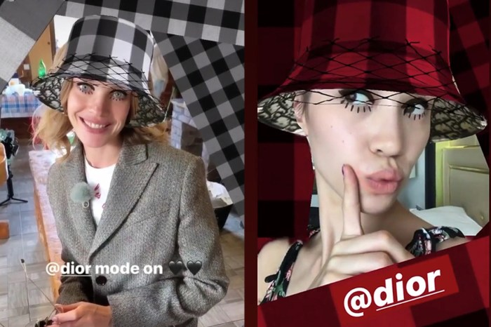 Dior 於 Instagram 推出專屬 Filter!時尚女生快去試吧