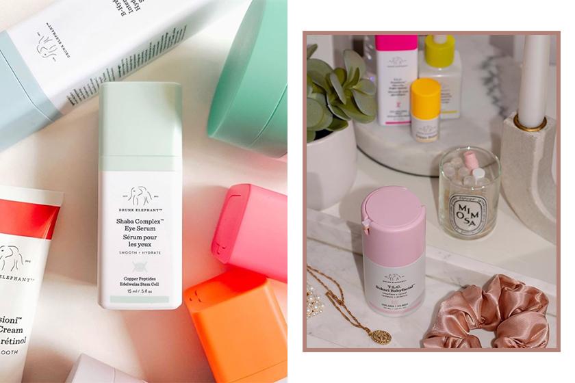 drunk elephant shiseido acquistion clean beauty skincare