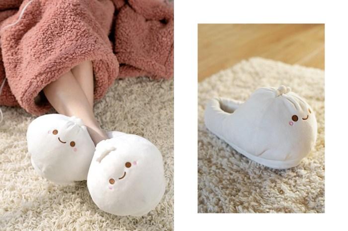 療癒居家小物:這雙小籠包拖鞋不僅外型可愛,還配有加熱功能可以溫暖雙腳!