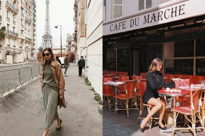 30 秒穿出 Effortless Chic:慵懶的法國女生,秋冬獨愛這條裙!