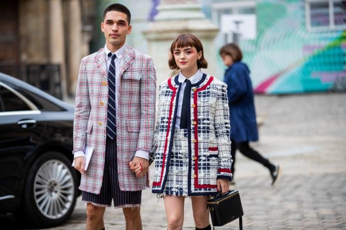 #PFW:Maisie Williams 與男友 Reuben Selby 出席時裝週,這個造型亮點引來網民讚賞!