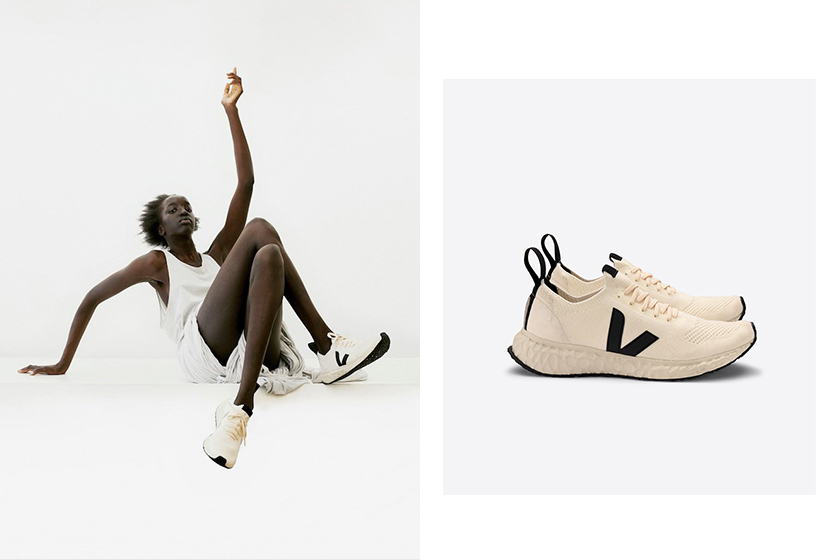 rick owens Veja sneaker collab campaign ethical sustainable