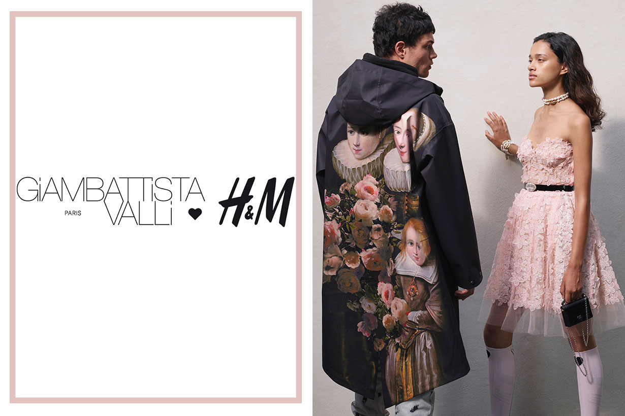 Giambattista Valli x HM collection lookbook