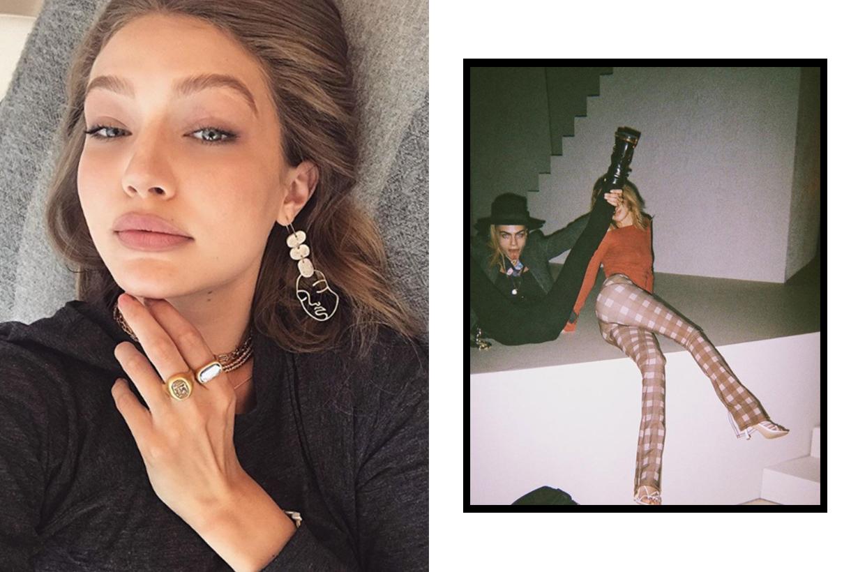 Gigi Hadid's Secret Instagram Account