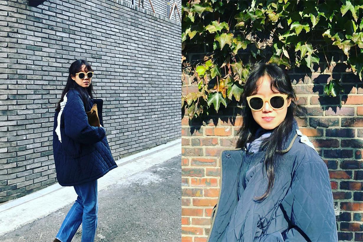 Gong Hyo Jin Vedi Vero Song Hye Kyo Sunglasses Korean Brand Ad campaign muse korean idols celebrities actresses